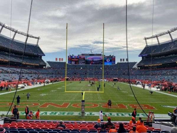 Empower Field at Mile High Stadium, secção: 114, fila: 15, lugar: 10