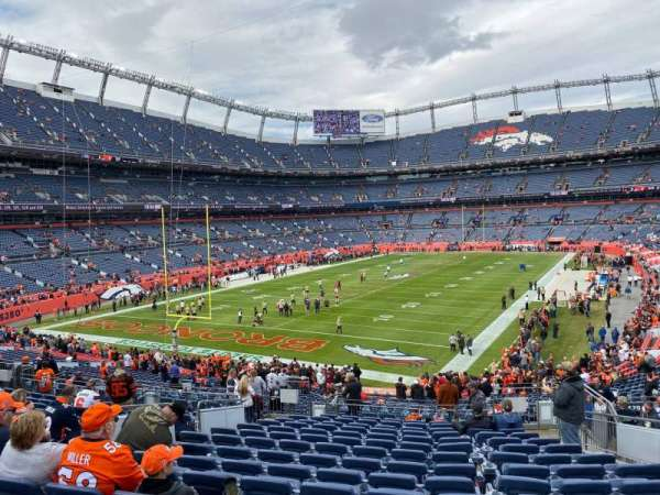 Empower Field at Mile High Stadium, secção: 129, fila: 37, lugar: 31