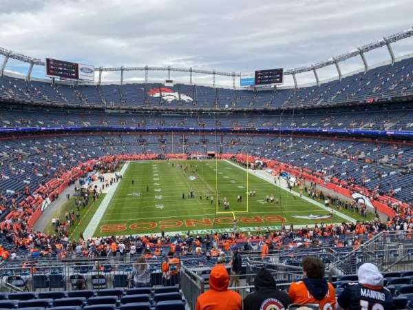 Empower Field at Mile High Stadium, secção: 233, fila: 14, lugar: 14