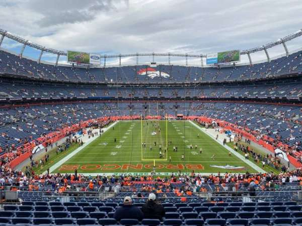 Empower Field at Mile High Stadium, secção: 232, fila: 11, lugar: 15