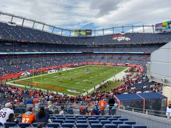 Empower Field at Mile High Stadium, secção: 228, fila: 15, lugar: 5