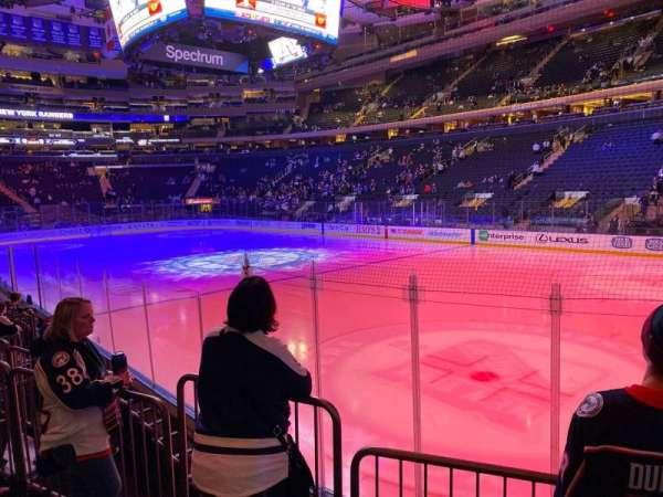 Madison Square Garden, secção: 110, fila: 6, lugar: 2