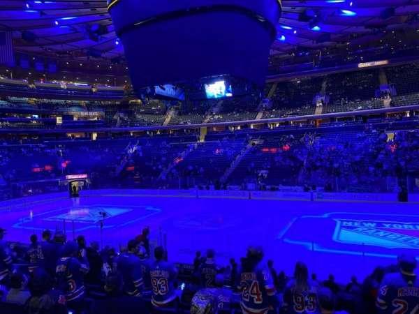 Madison Square Garden, secção: 118, fila: 14, lugar: 14