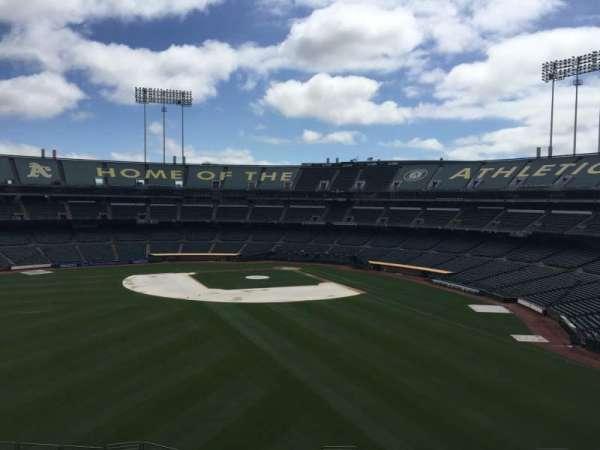 Oakland Coliseum, secção: 237, fila: 2