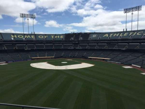 Oakland Coliseum, secção: 239, fila: 2