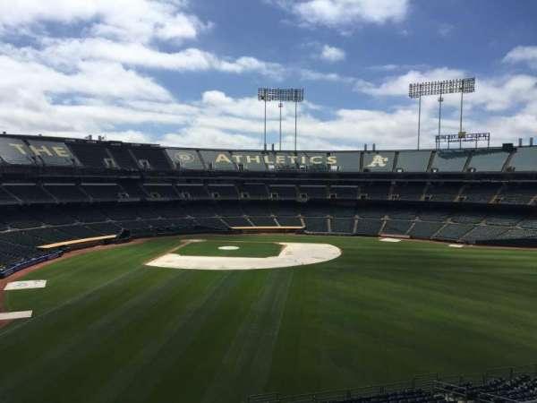 Oakland Coliseum, secção: 249, fila: 2