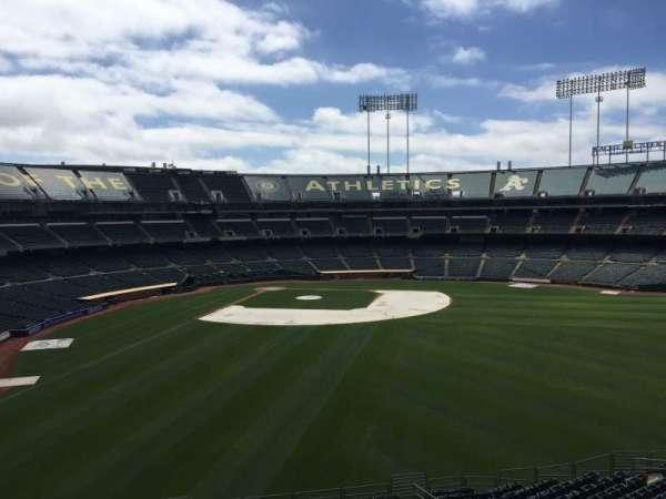 Oakland Coliseum, secção: 248, fila: 2