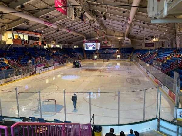 1st Summit Arena, secção: 10, fila: L, lugar: 2