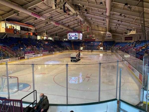 1st Summit Arena, secção: 10, fila: G, lugar: 6