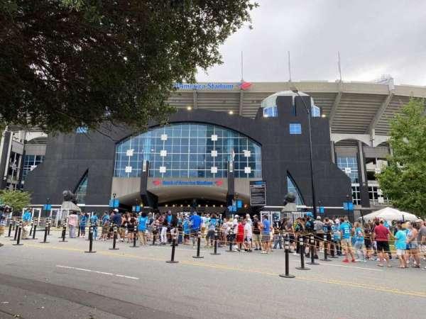 Bank of America Stadium, secção: North Gate