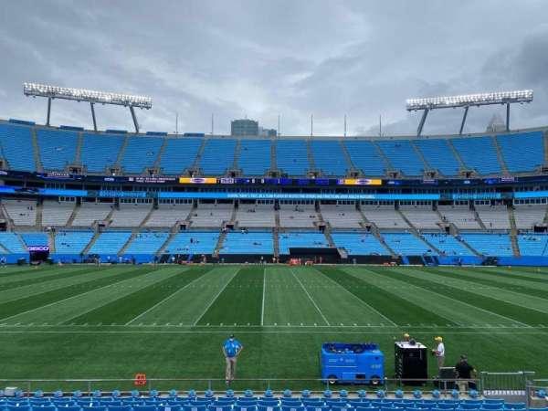 Bank of America Stadium, secção: 132, fila: 13, lugar: 12