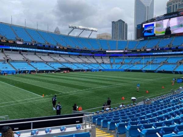 Bank of America Stadium, secção: 137, fila: 12, lugar: 3