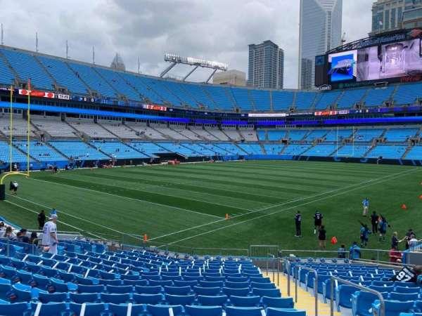 Bank of America Stadium, secção: 138, fila: 17, lugar: 2