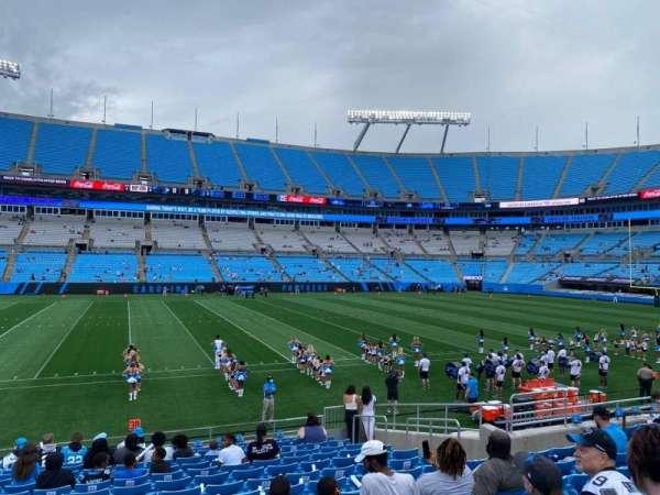 Bank of America Stadium, secção: 113, fila: 14, lugar: 12