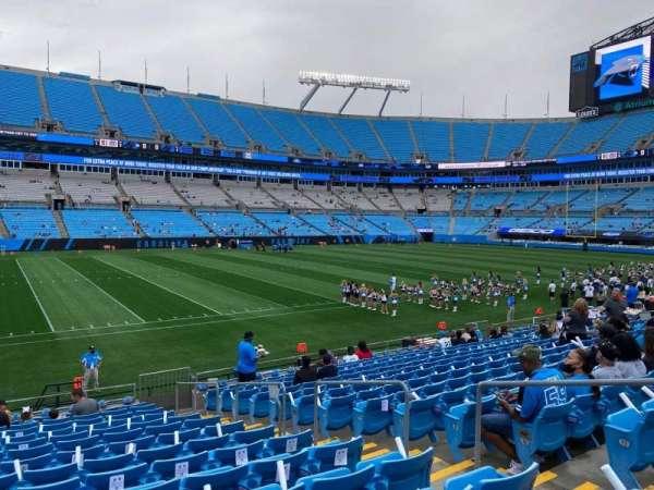 Bank of America Stadium, secção: 115, fila: 14, lugar: 5
