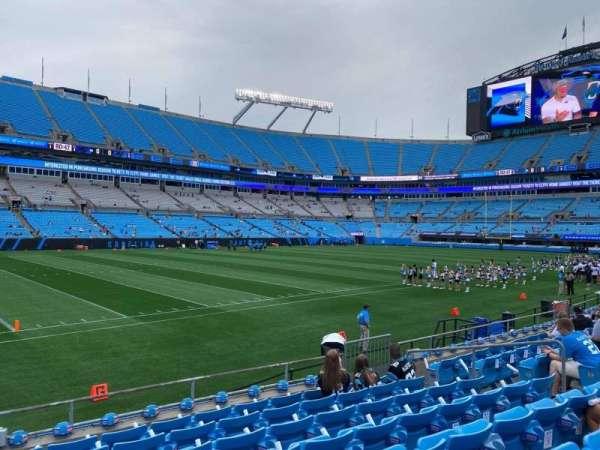 Bank of America Stadium, secção: 116, fila: 7, lugar: 12
