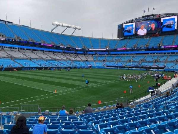 Bank of America Stadium, secção: 117, fila: 12, lugar: 15