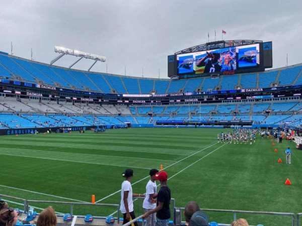 Bank of America Stadium, secção: 118, fila: 7, lugar: 14