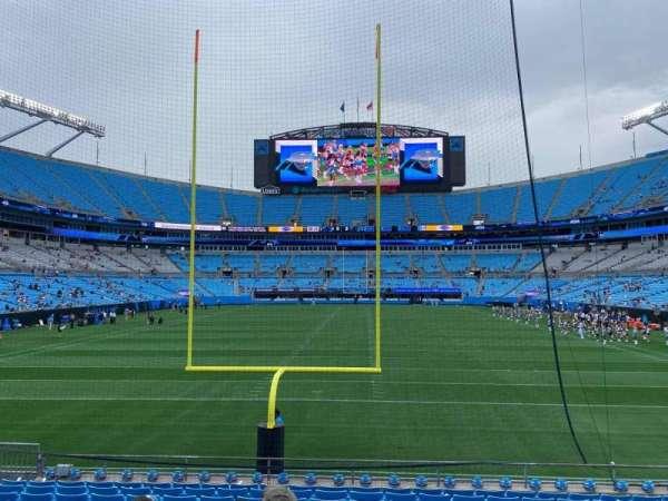 Bank of America Stadium, secção: 121, fila: 12, lugar: 12