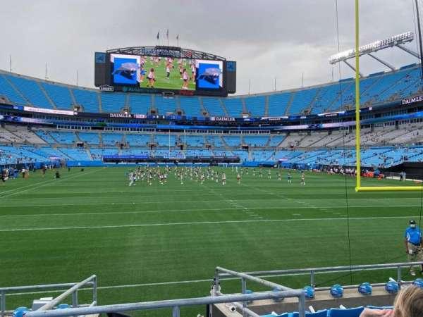 Bank of America Stadium, secção: 122, fila: 6, lugar: 12