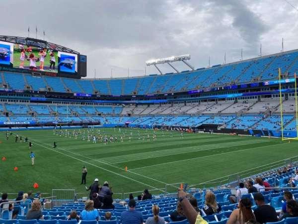 Bank of America Stadium, secção: 125, fila: 15, lugar: 11