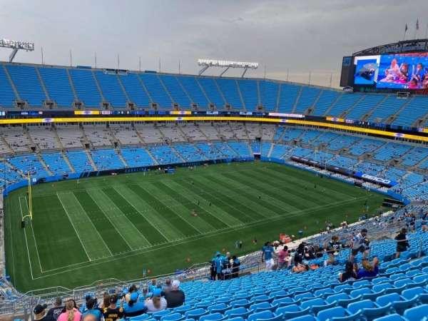 Bank of America Stadium, secção: 519, fila: 21, lugar: 20