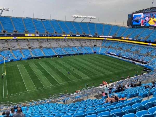 Bank of America Stadium, secção: 519, fila: 15, lugar: 11