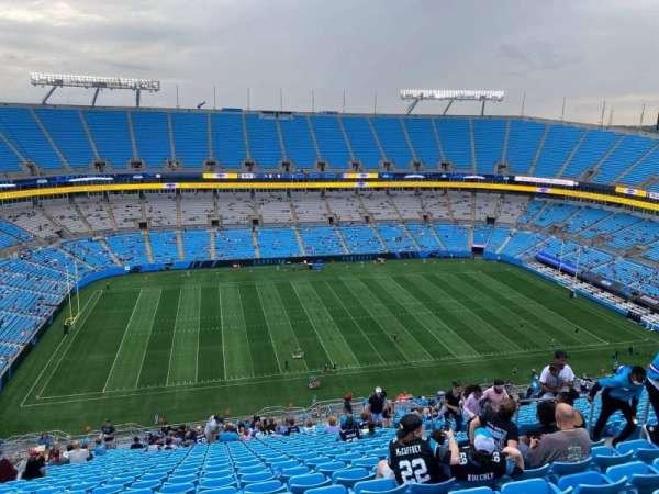 Bank of America Stadium, secção: 517, fila: 29, lugar: 10