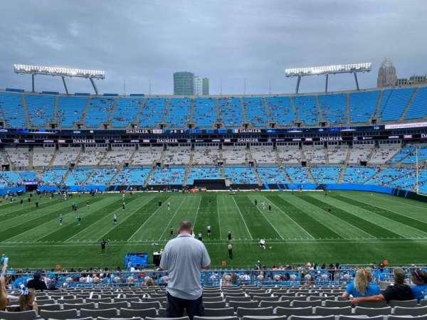 Bank of America Stadium, secção: 345, fila: 13, lugar: 11