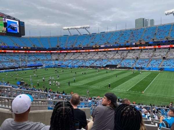 Bank of America Stadium, secção: 339, fila: 8, lugar: 8
