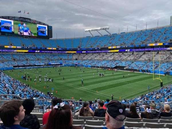 Bank of America Stadium, secção: 336, fila: 12, lugar: 12