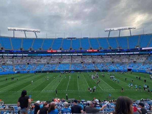 Bank of America Stadium, secção: 315, fila: 9, lugar: 19