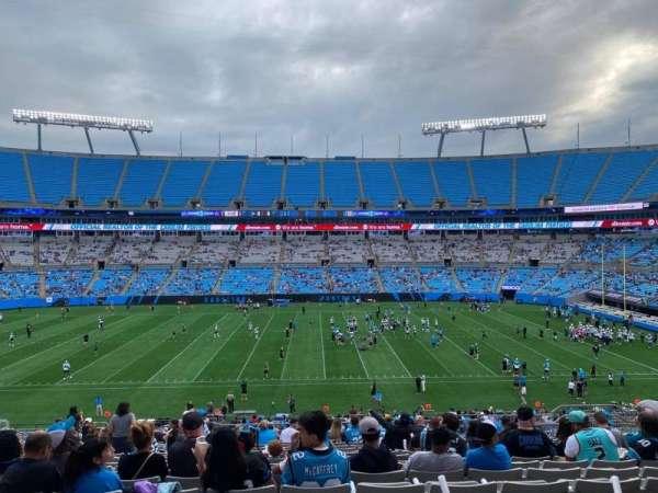 Bank of America Stadium, secção: 315, fila: 19, lugar: 11