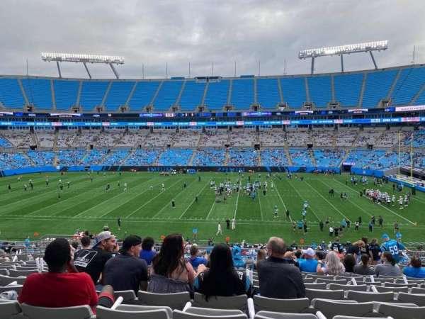 Bank of America Stadium, secção: 314, fila: 18, lugar: 11