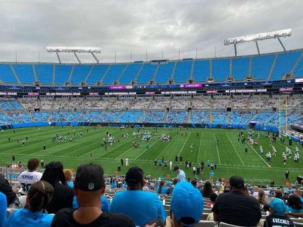 Bank of America Stadium, secção: 313, fila: 14, lugar: 9