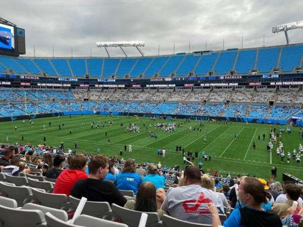 Bank of America Stadium, secção: 312, fila: 14, lugar: 8