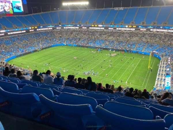 Bank of America Stadium, secção: 510, fila: 24, lugar: 16