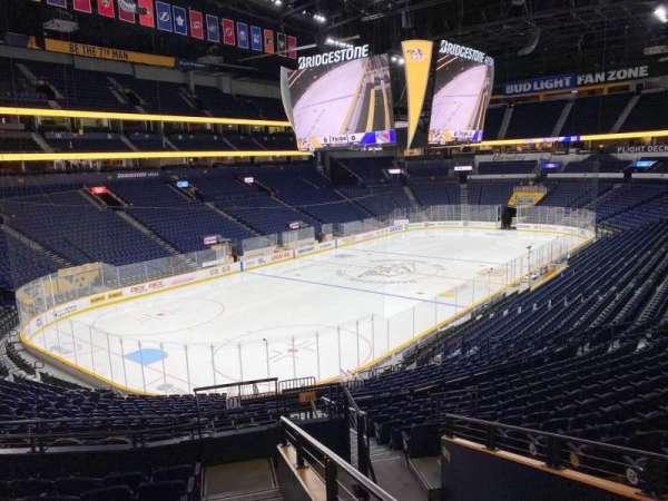 Bridgestone Arena, secção: Suite 18, fila: 1