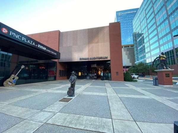 Ryman Auditorium, secção: Main Entrance