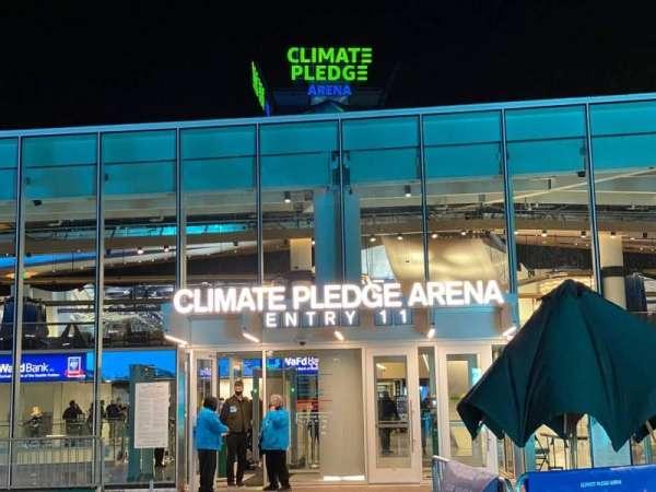 Climate Pledge Arena, secção: Entry 11