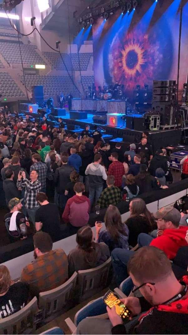 Allen County War Memorial Coliseum, secção: 213, fila: 5, lugar: 9