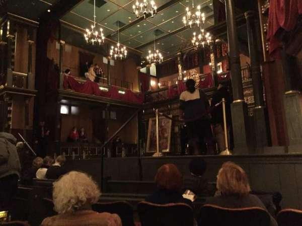 Belasco Theatre, secção: Orchestra R, fila: F, lugar: 12