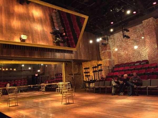 Classic Stage Company, secção: Side, fila: A, lugar: 101
