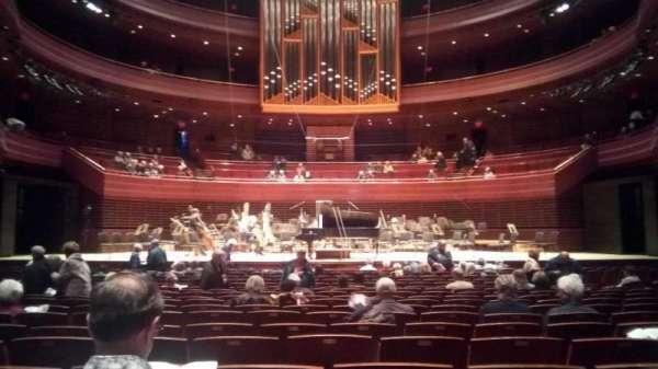 Verizon Hall at the Kimmel Center, secção: Orchestra, fila: U, lugar: 110