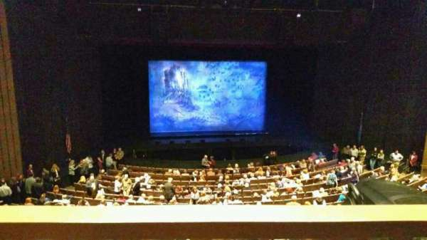 Chapman Music Hall - Tulsa Performing Arts Center, secção: MLC, fila: H, lugar: 9