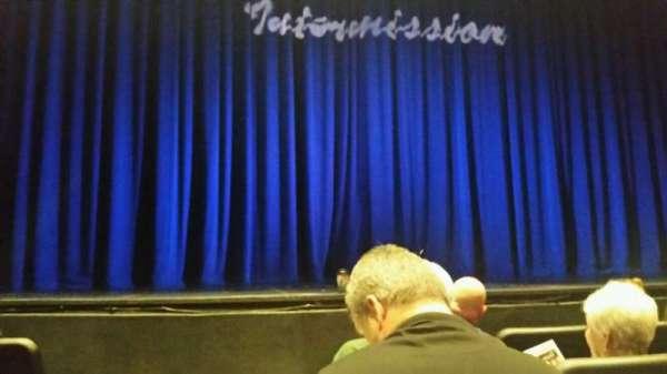 John Williams Theatre - Tulsa Performing Arts Center, secção: Center, fila: D, lugar: 1