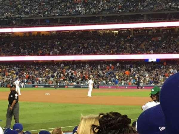 Dodger Stadium, secção: 41FD, fila: D, lugar: 5