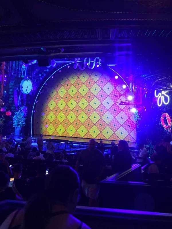 Palace Theatre (Broadway), secção: ORCH, lugar: 6