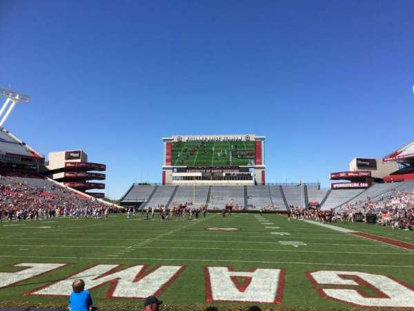 Williams-Brice Stadium, secção: 13, fila: 5, lugar: 18