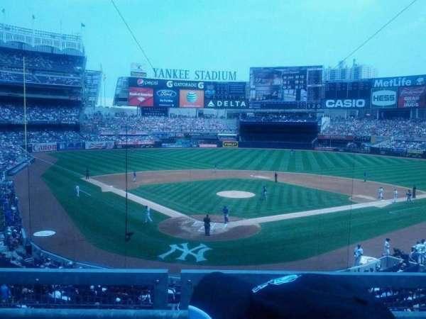 Yankee Stadium, secção: 220A, fila: 2, lugar: 5